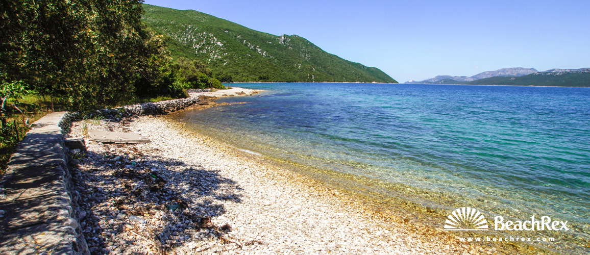 Croatia - Dalmatia  Dubrovnik -  Duba Stonska - Beach Lovrata
