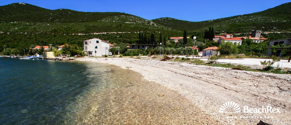 Croatia - Dalmatia  Dubrovnik -  Brijesta - Beach Brijesta