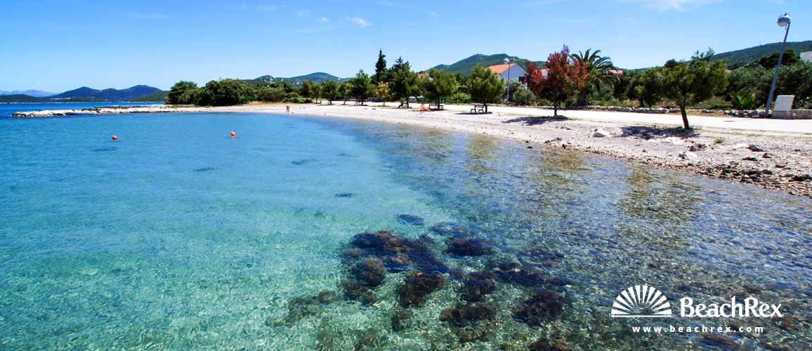 Croatia - Dalmatia  Dubrovnik -  Drače - Beach Drače