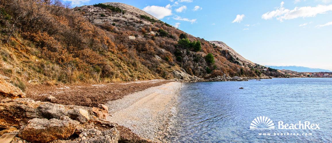 Croatia - Kvarner - Island Krk -  Stara Baška - Beach Škrila