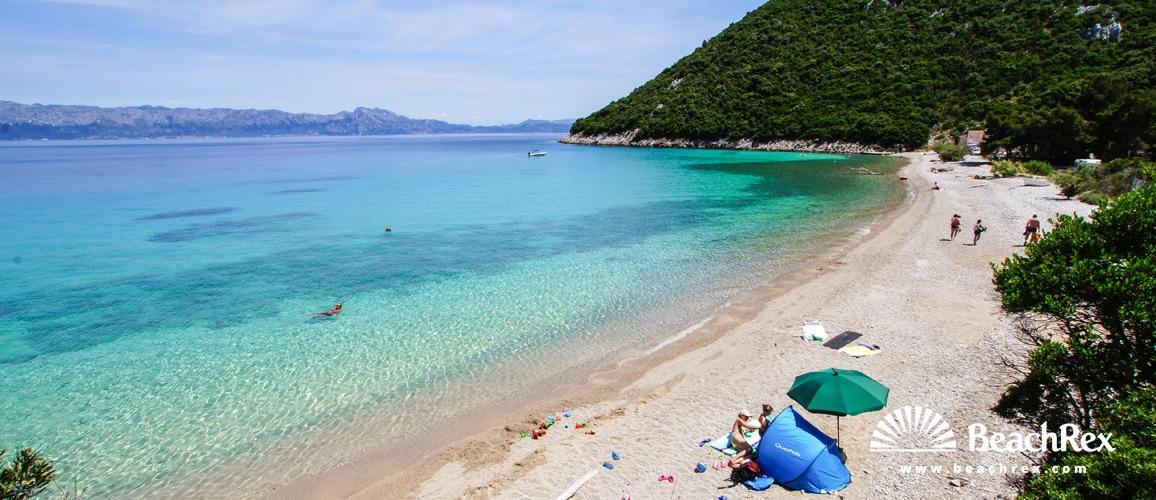 Croatia - Dalmatia  Dubrovnik -  Trpanj - Beach Divna