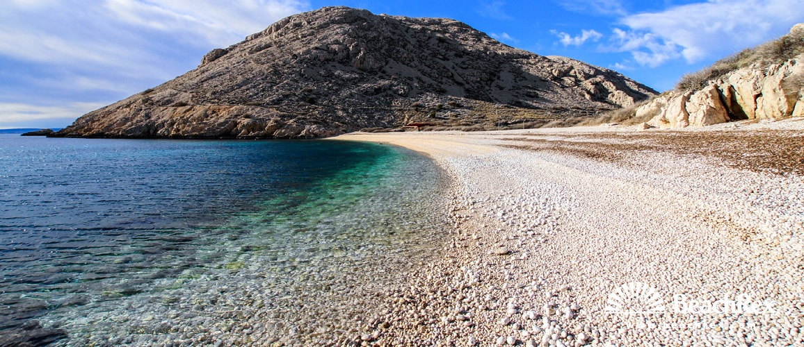 Croatia - Kvarner - Island Krk -  Stara Baška - Beach Oprna
