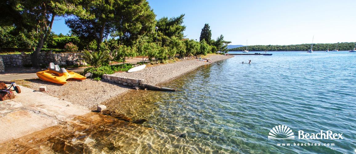 Croatia - Dalmatia  Dubrovnik -  Lovište - Beach Kamenica