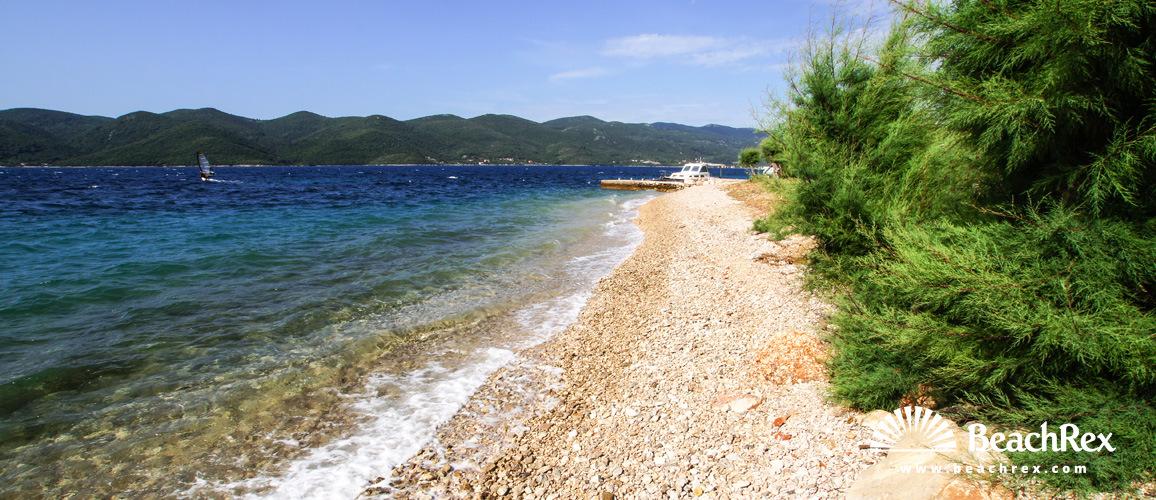 Croatia - Dalmatia  Dubrovnik -  Viganj - Beach Ploče