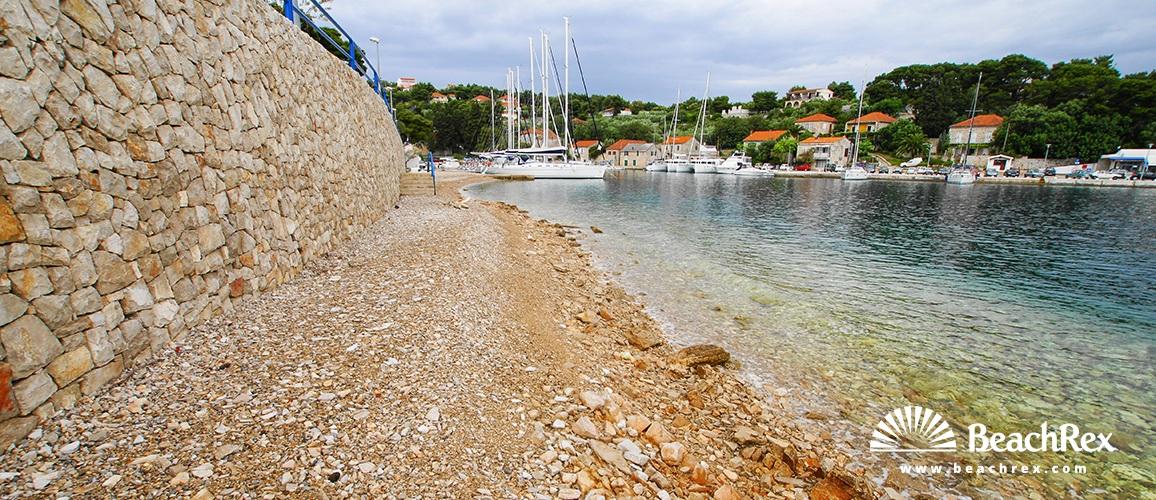 Croatia - Dalmatia  Split - Island Šolta -  Rogač - Beach Luka Rogač