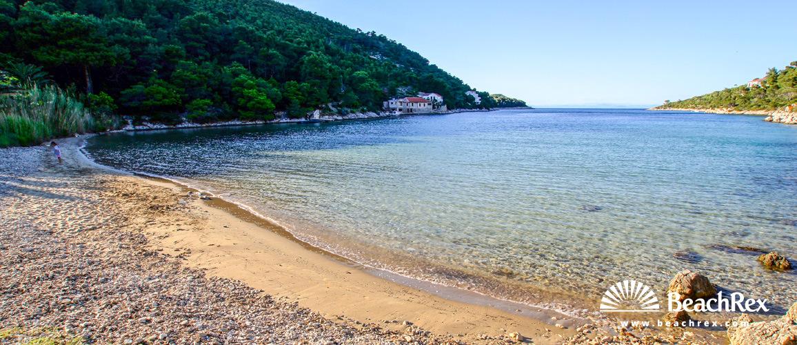 Croatia - Dalmatia  Split - Island Vis -  Vis - Beach Stončica