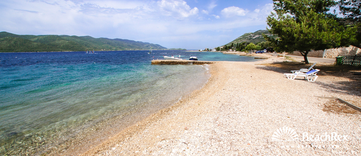 Croatia - Dalmatia  Dubrovnik -  Viganj - Beach Ponta