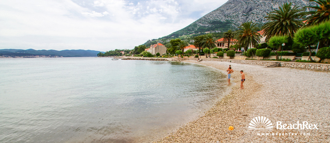 Croatia - Dalmatia  Dubrovnik -  Orebić - Beach Nazorova