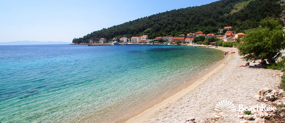 Croatia - Dalmatia  Dubrovnik -  Trstenik - Beach Trstenik