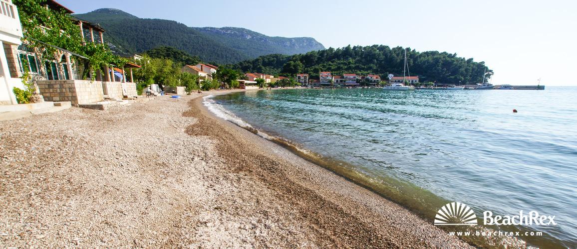 Croatia - Dalmatia  Dubrovnik -  Žuljana - Beach Žuljana