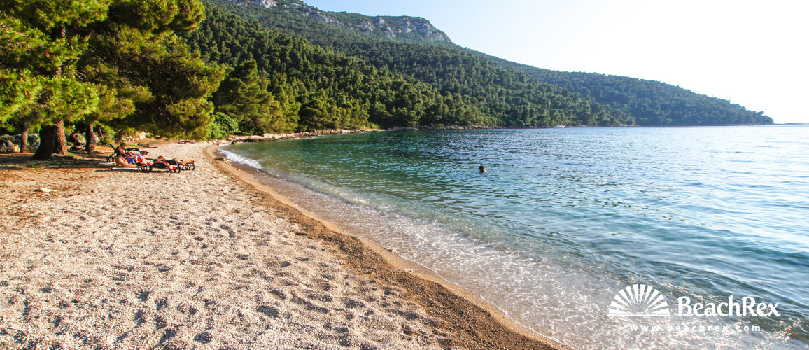 Croatia - Dalmatia  Dubrovnik -  Žuljana - Beach Vučine