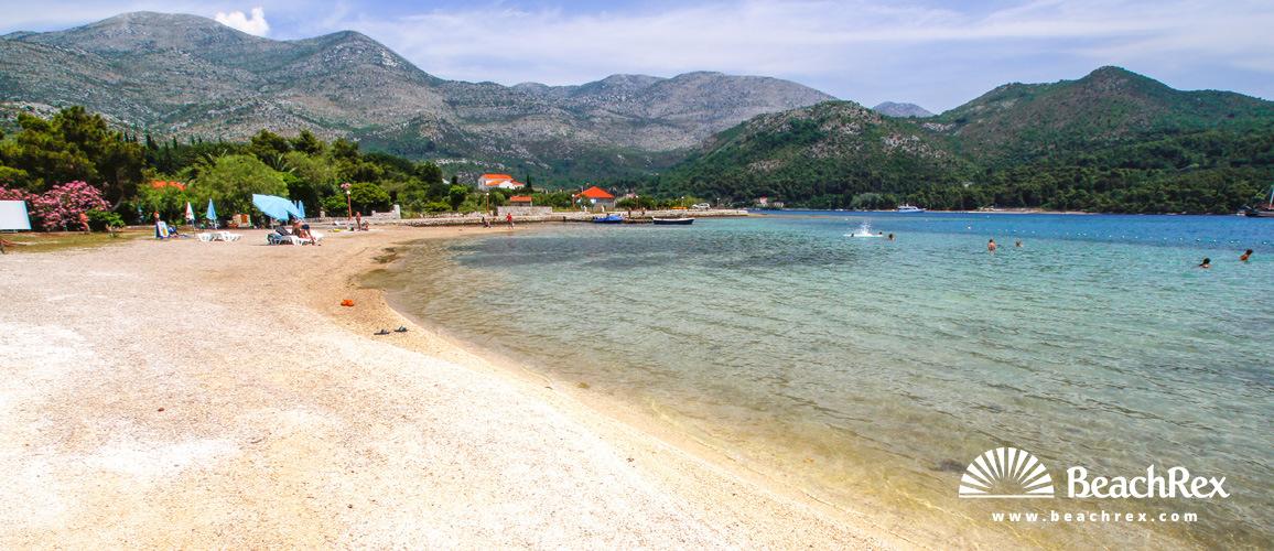 Croatia - Dalmatia  Dubrovnik -  Slano - Beach Grgurići