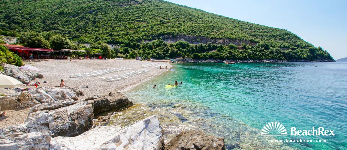 Croatia - Dalmatia  Dubrovnik -  Dubravica - Beach Veliki Žal