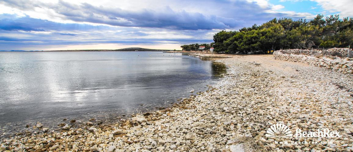 Croatia - Dalmatia  Zadar - Island Pag -  Košljun - Beach Mirela