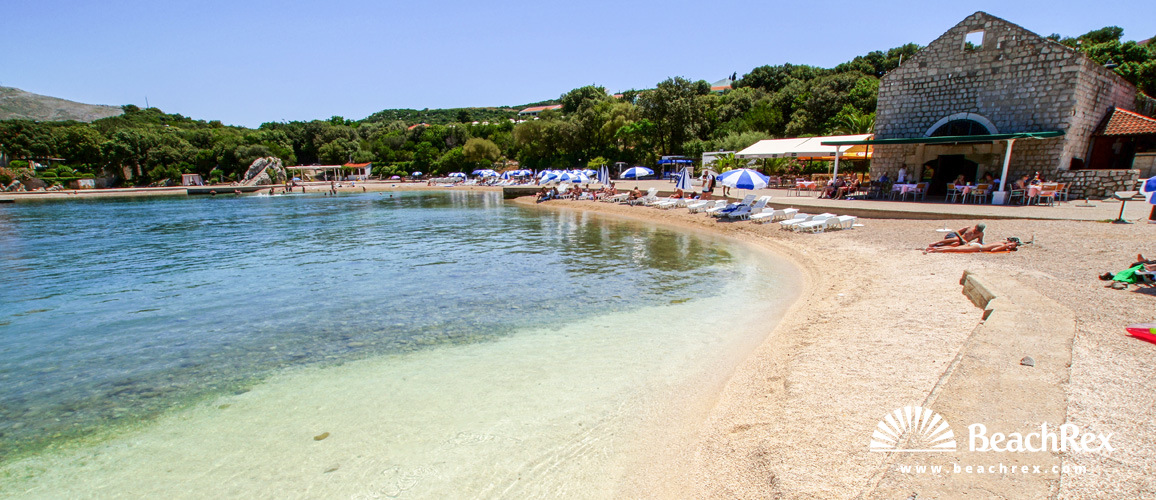 Croatia - Dalmatia  Dubrovnik -  Dubrovnik - Beach Copacabana