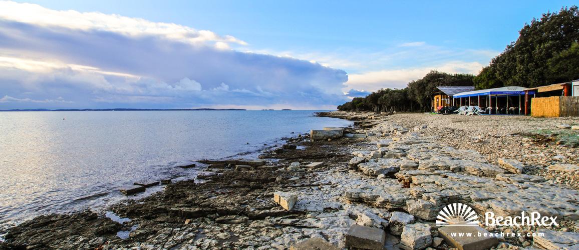 Croatia - Istra -  Barbariga - Beach Marić