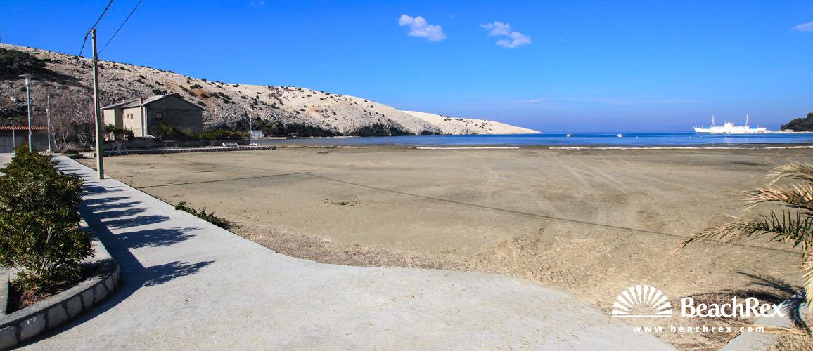 Croatia - Kvarner - Island Rab -  Plaža Lopar - Beach Lopar