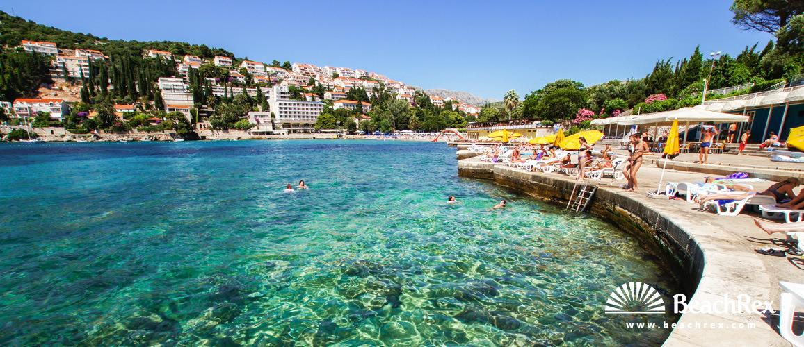 Croatia - Dalmatia  Dubrovnik -  Dubrovnik - Beach Lapad