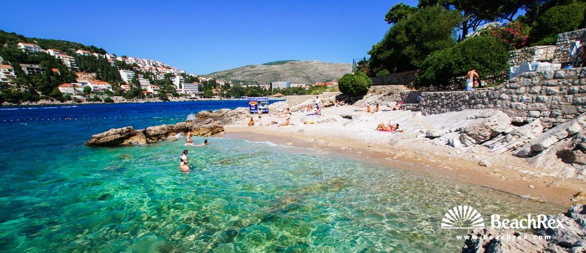 Croatia Dalmatia Dubrovnik Beach Splendid