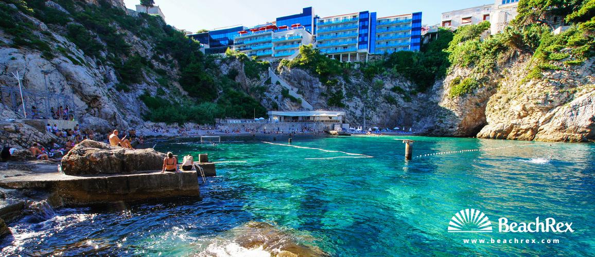 Croatia - Dalmatia  Dubrovnik -  Dubrovnik - Beach Bellevue