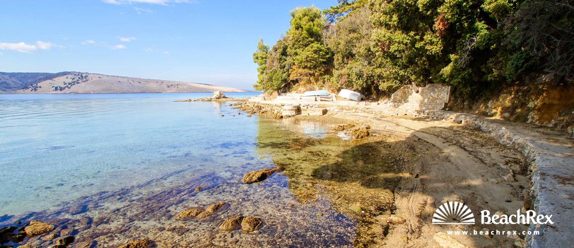 Croatia - Kvarner - Island Rab -  Lopar - Beach Leščur