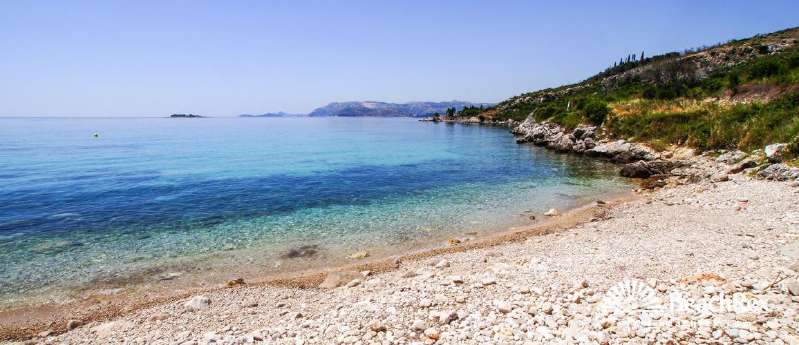 Croatia - Dalmatia  Dubrovnik -  Cavtat - Beach Obod