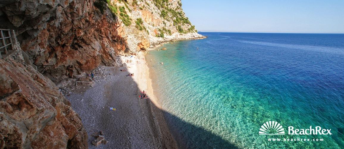 Croatia - Dalmatia  Dubrovnik -  Cavtat - Beach Pasjača