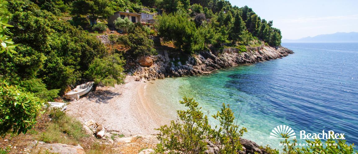 Croatia - Dalmatia  Split - Island Hvar -  Gdinj - Beach Soca