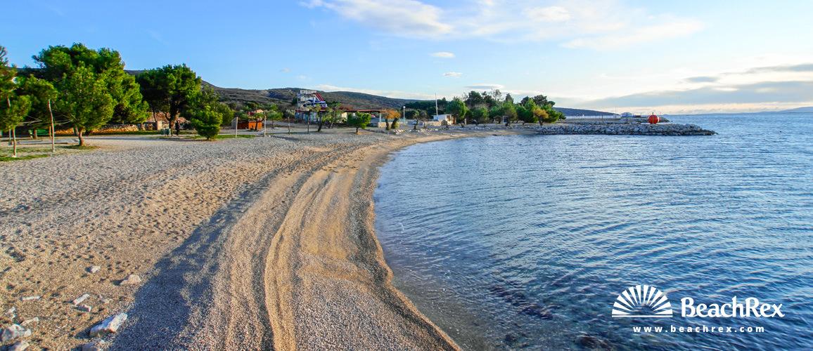 Croatia - Kvarner - Island Krk -  Punat - Beach Punta Debij