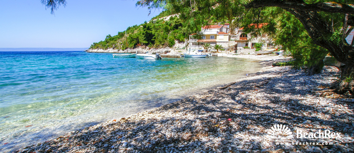 Croatia - Dalmatia  Dubrovnik - Island Korčula -  Blato - Beach Babina