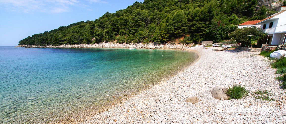 Croatia - Dalmatia  Split - Island Hvar -  Gdinj - Beach Skozanje