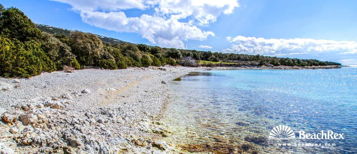 Croatia - Dalmatia  Zadar - Island Pag -  Pag - Beach Srčanka