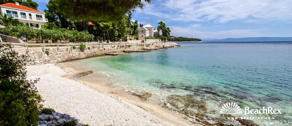 Croatia - Dalmatia  Split - Island Brač -  Sumartin - Beach Mala Banda