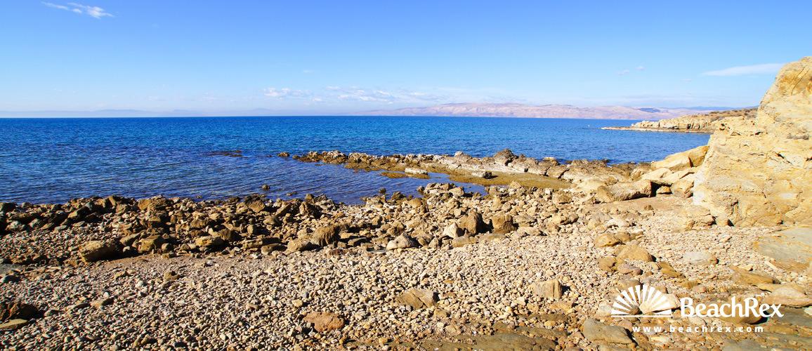 Croatia - Kvarner - Island Rab -  Lopar - Beach Kerera