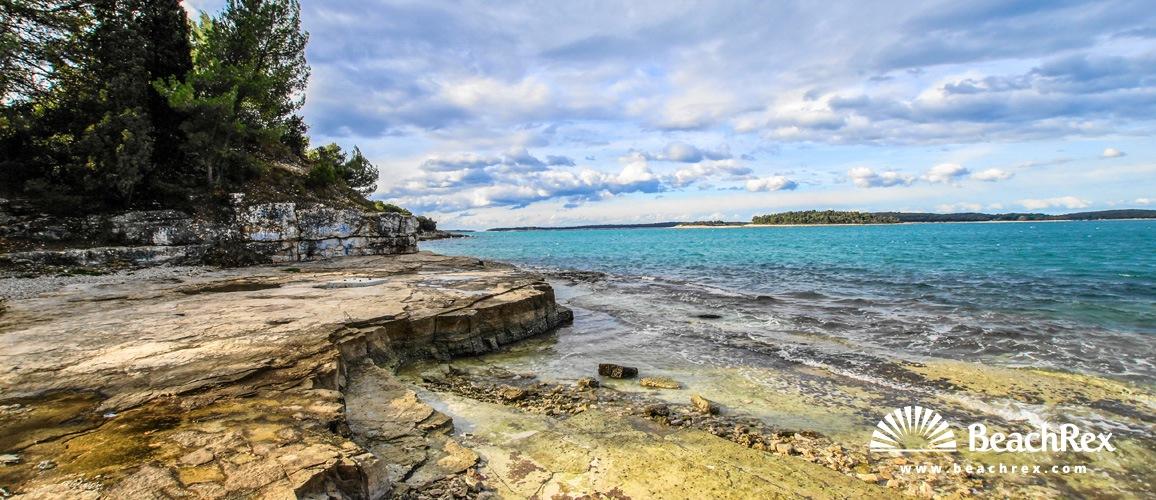 Croatia - Istra -  Pula - Beach Puntižela