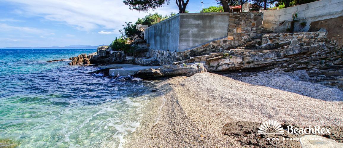 Croatia - Dalmatia  Split - Island Brač -  Sumartin - Beach Kartolina