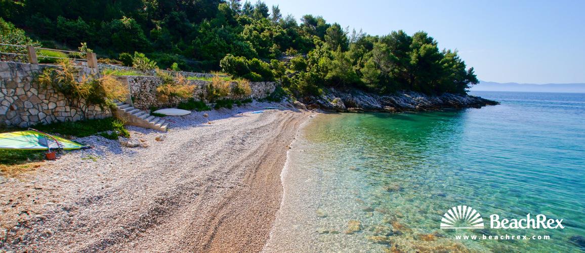 Croatia - Dalmatia  Split - Island Hvar -  Gdinj - Beach Jedra