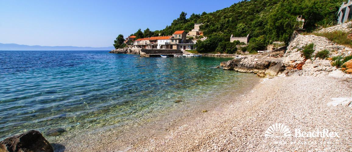 Croatia - Dalmatia  Split - Island Hvar -  Gdinj - Beach Srhov Dolac
