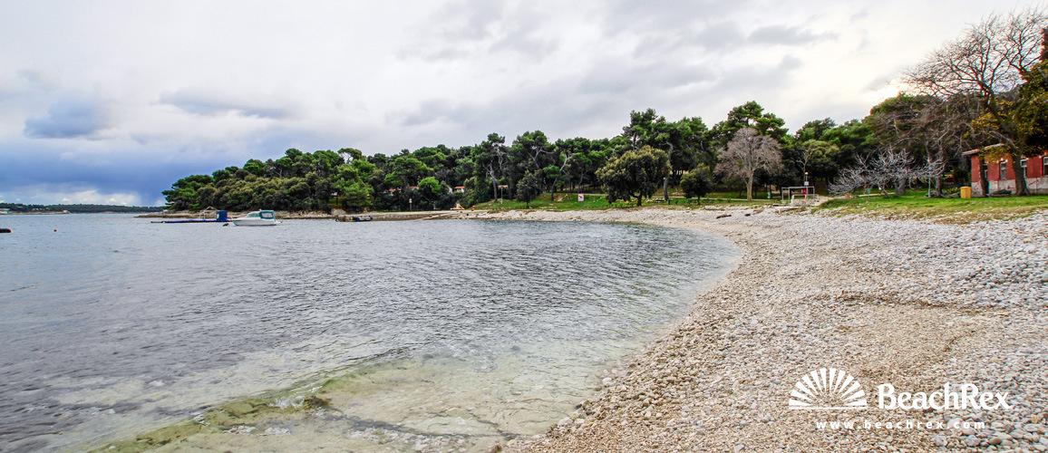 Croatia - Istra -  Pula - Beach Stoja