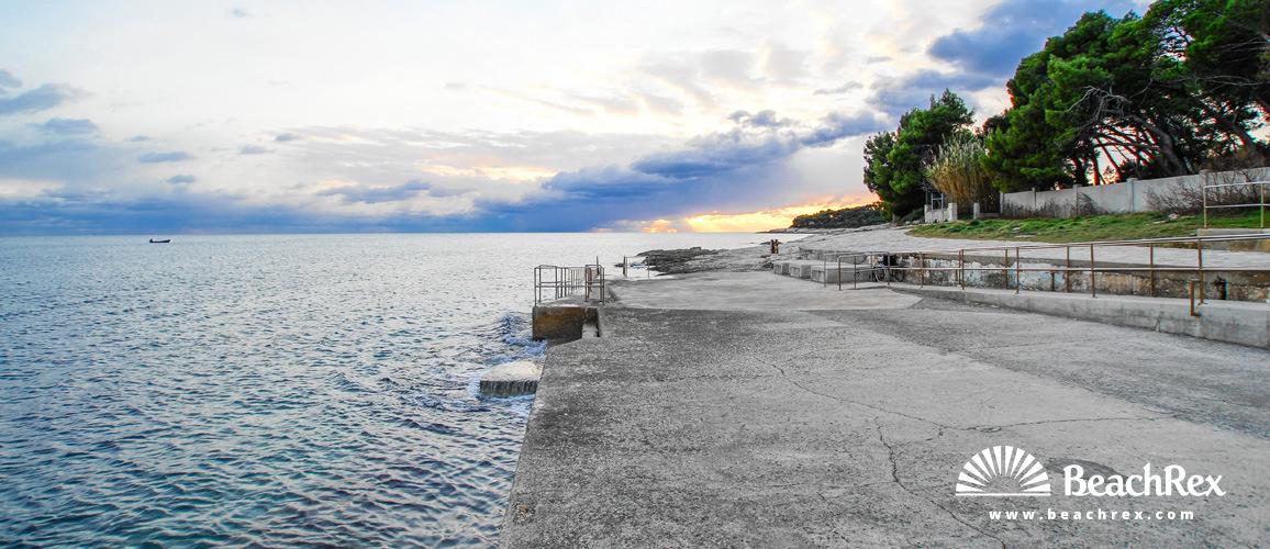 Croatia - Istra -  Pula - Beach Valkane