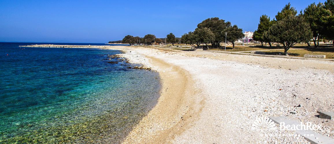 Croatia - Lika - Island Pag -  Gajac - Beach Brničevica