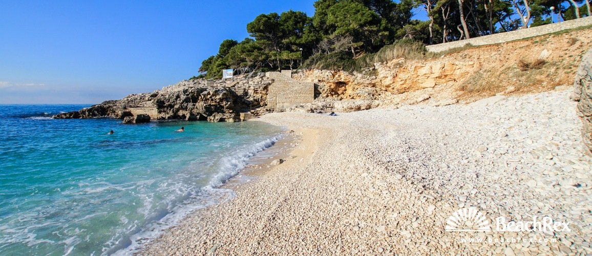 Croatia - Istra -  Pula - Beach Havajka