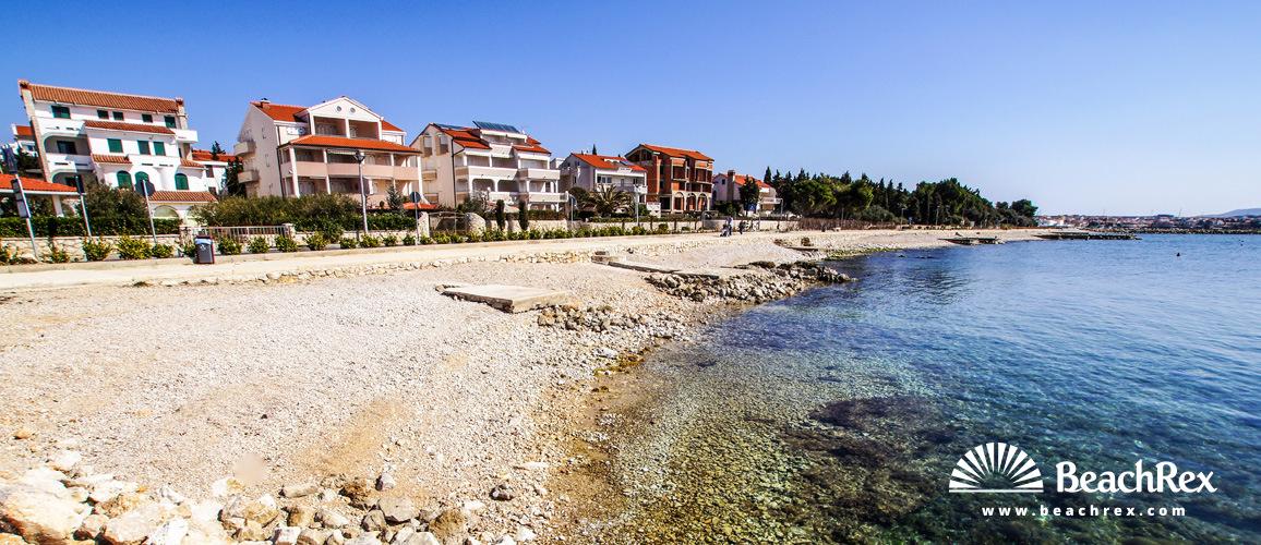 Croatia - Lika - Island Pag -  Novalja - Beach Riva