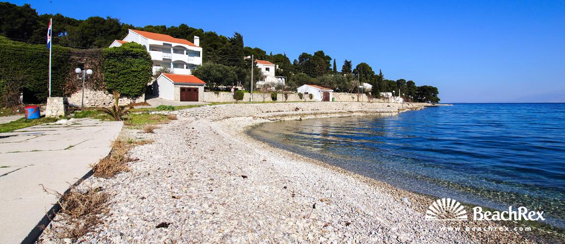 Croatia - Dalmatia  Zadar - Island Ugljan -  Lukoran - Beach Lukoran