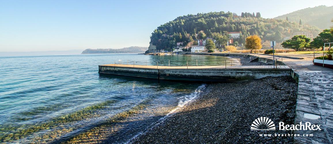 Slovenia - Obalno kraška -  Portorož - Beach Fiesa