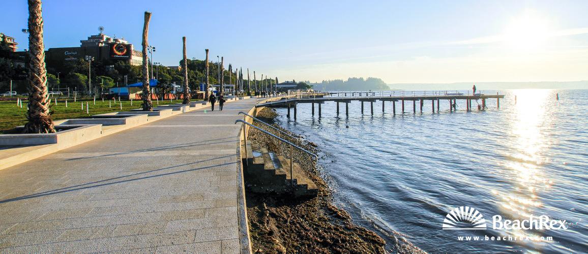 Slovenia - Obalno kraška -  Portorož - Beach Portorož