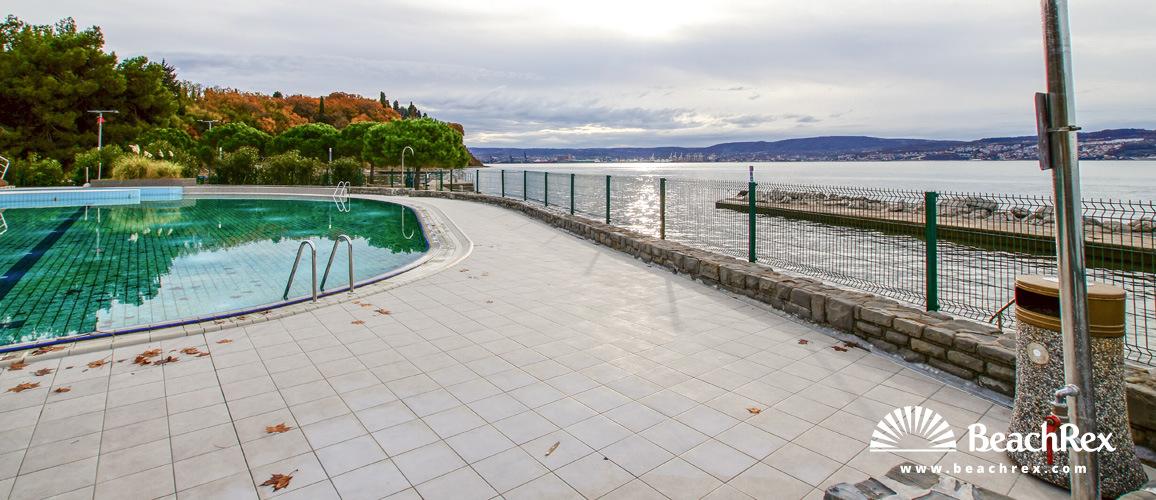 Slovenia - Obalno kraška -  Ankaran - Zdravilišče Debeli rtič