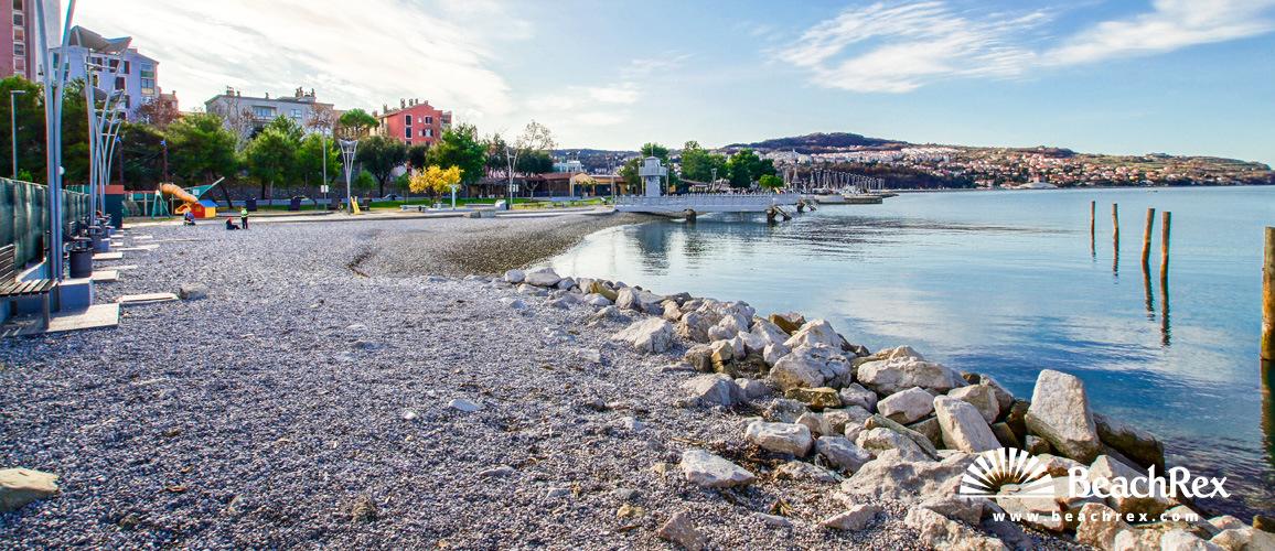 Slovenia - Obalno kraška -  Koper - Mestno kopališče Koper