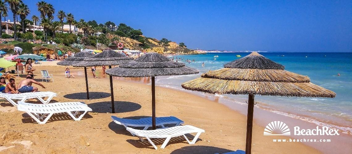 Portugal - Algarve -  Albufeira - Praia de Santa Eulália