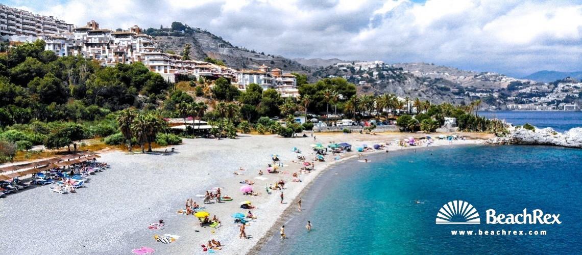 Spain - Andalucia -  Almuñécar - Playa Marina del Este